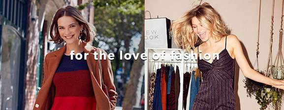 for the love of fashion – blonde and brunette woman in new look apparel