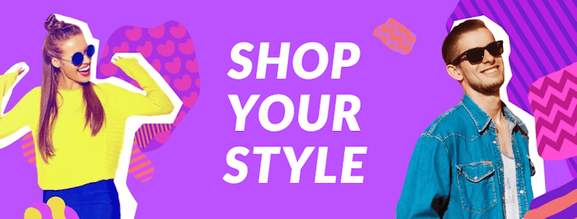 shop ypur style banner by aliexpress