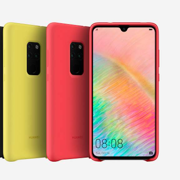 Huawei Mate 20 in different colours