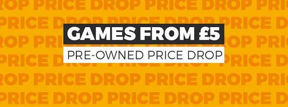 pre-owned games at games.co.uk banner