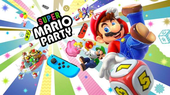 Super Mario Party Official Banner