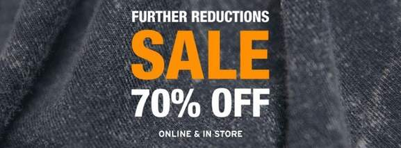 topman sale banner up to 70% off