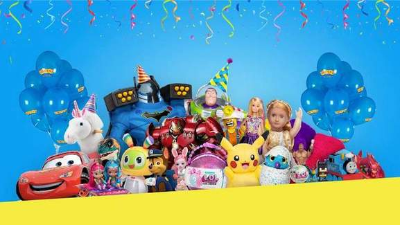 toys banner by smyths toys store