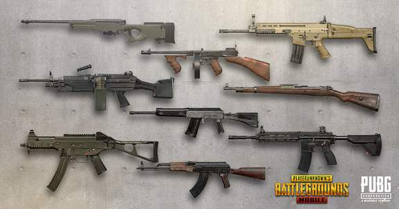 pubg weapons banner
