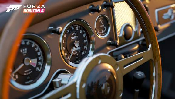 Forza Horizon 4 MG Steering Wheel