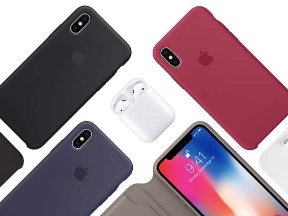 iphone x in different colours