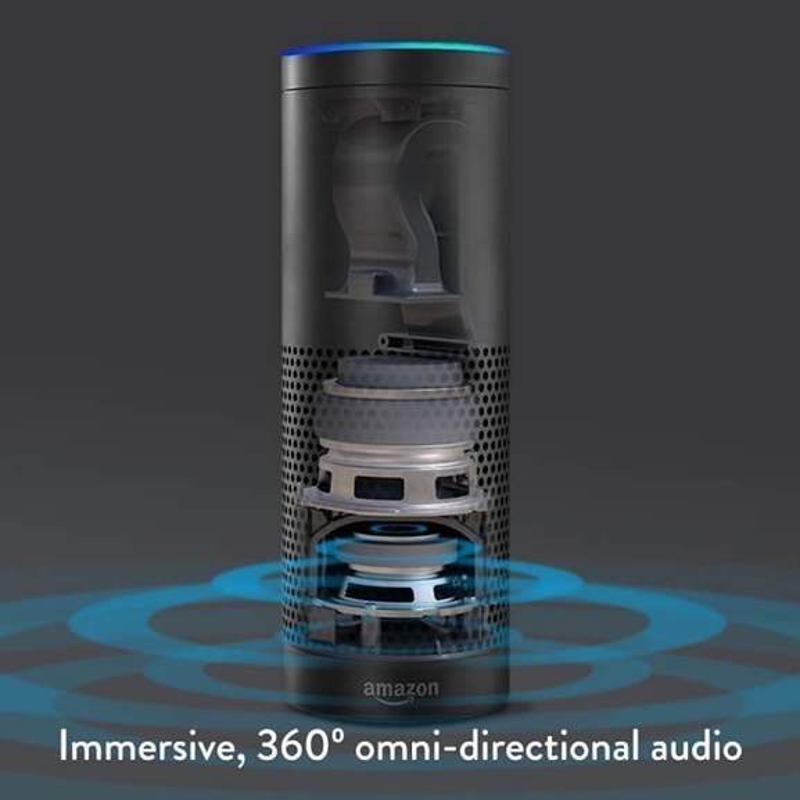 amazon echo immersive 360 degree omni-directional audio