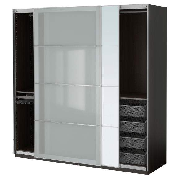 pax wardrobe sliding door