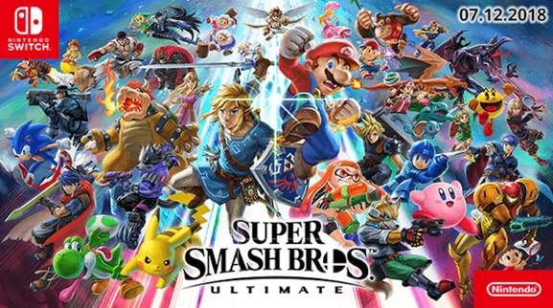 Nintendo's Super Smash Bros Official Banner