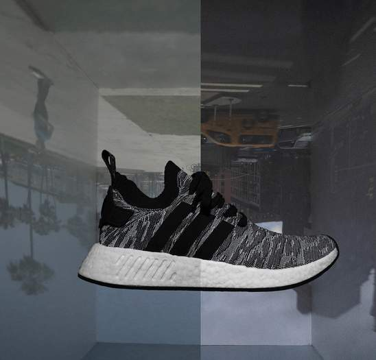best website 45b65 dc378 adidas nmd runner in black and white