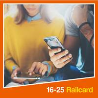 10% off  using promotional code @ 16-25 Railcard