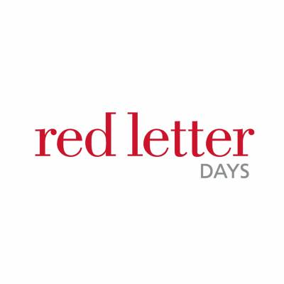 25% off Red Letter Days via myvouchercodes