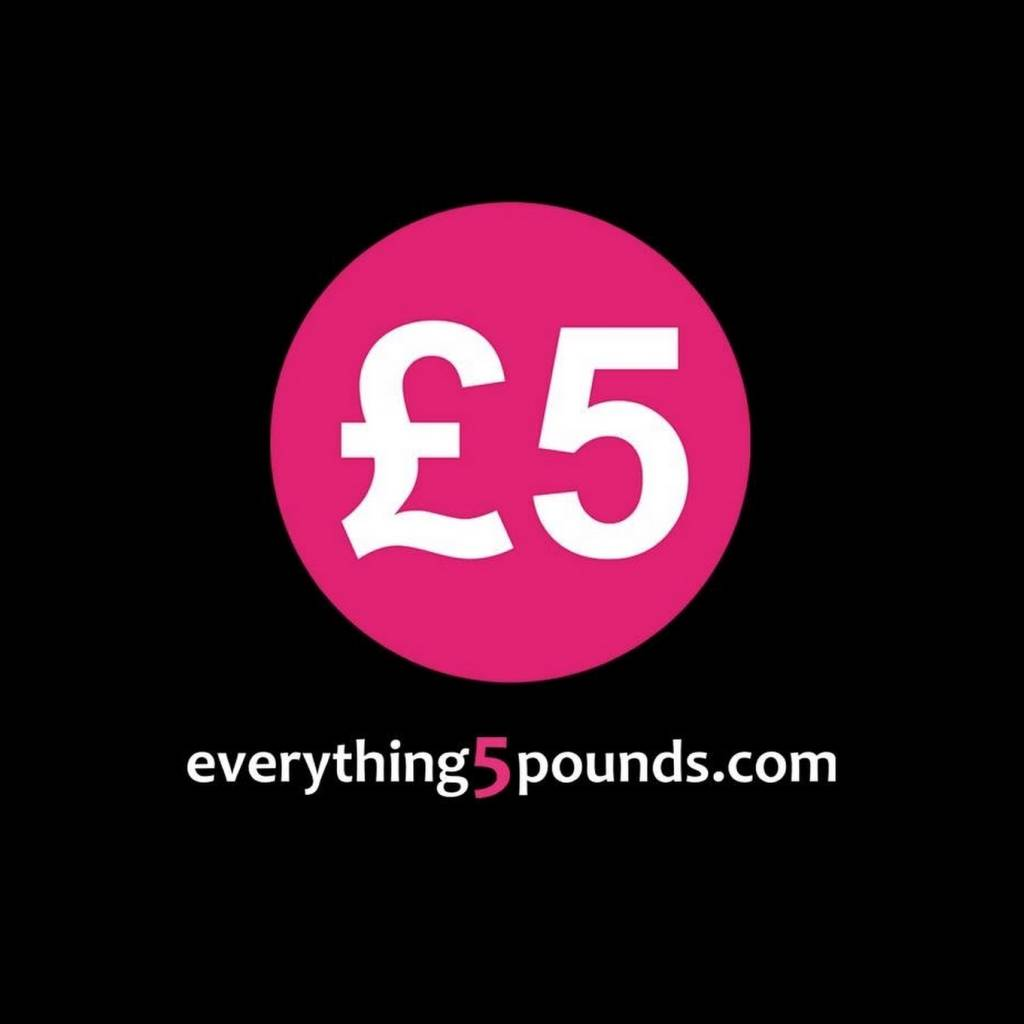 Free delivery using discount code at Everything5pounds