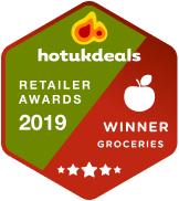 2019 hotukdeals retailer awards winner in groceries category