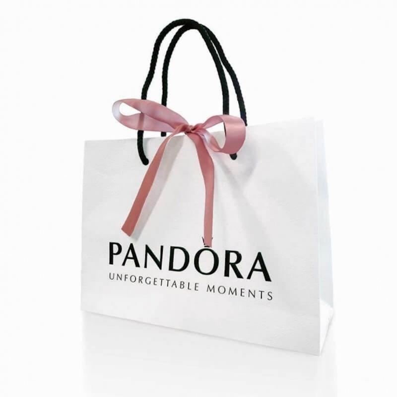 Pandora Logo on Bag