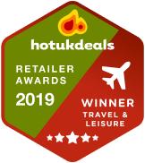 2019 hotukdeals Retailer Awards Travel category