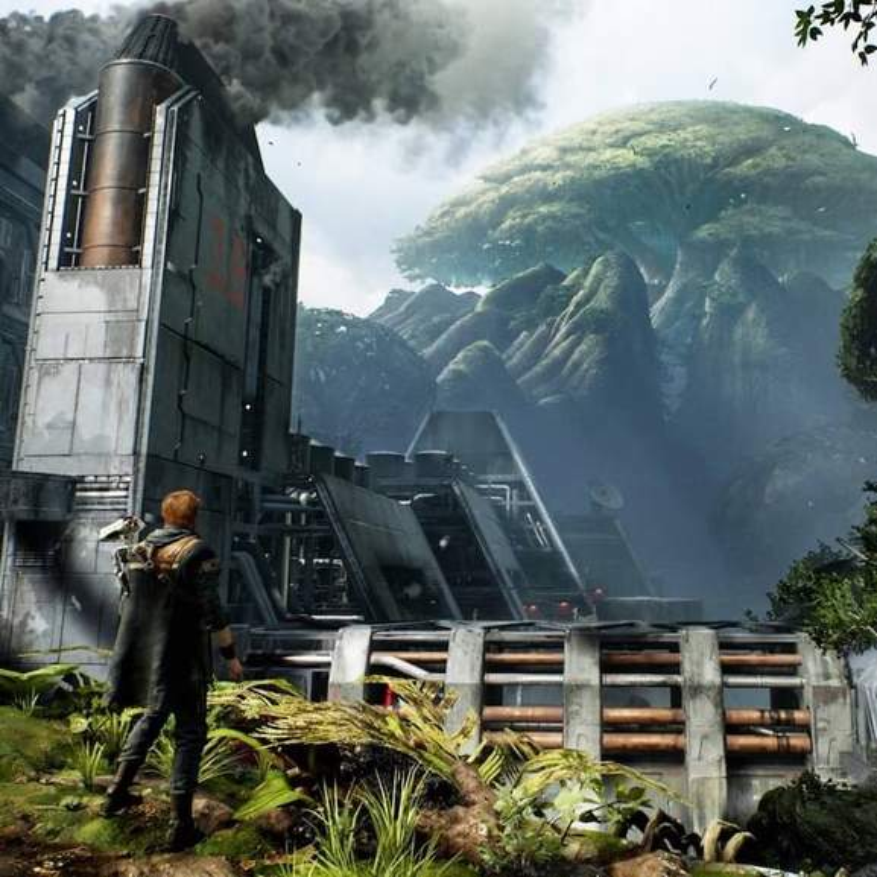 Star Wars Jedi Fallen Order world landscape