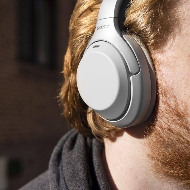 Silver Sony XM3 earpads