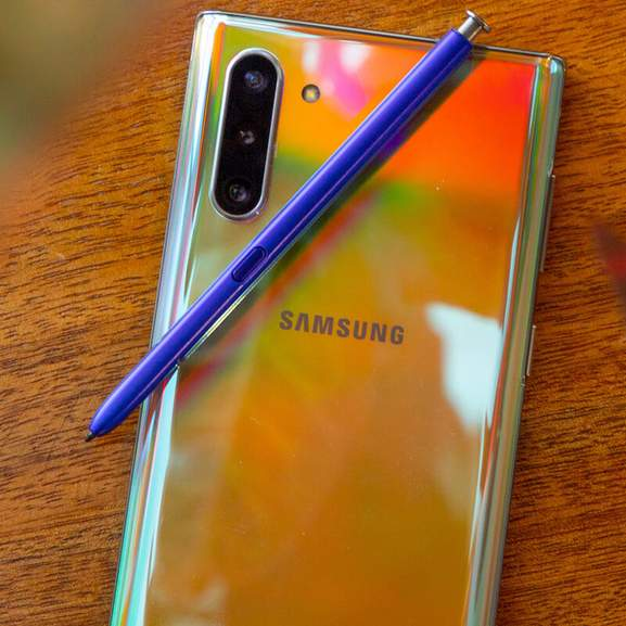 Samsung Galaxy Note 10 back with camera
