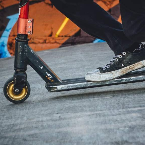 Vans on Scooter for adult