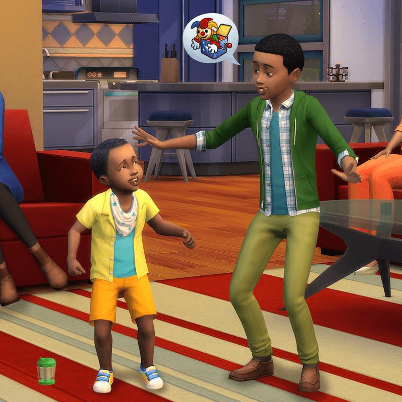 sims 4 kids