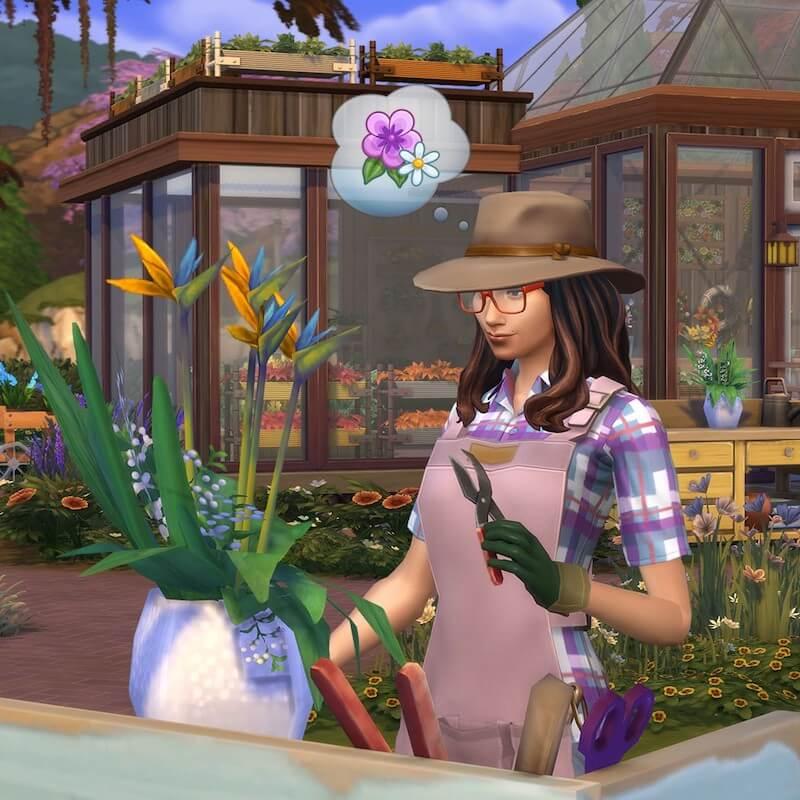 sims 4 garden