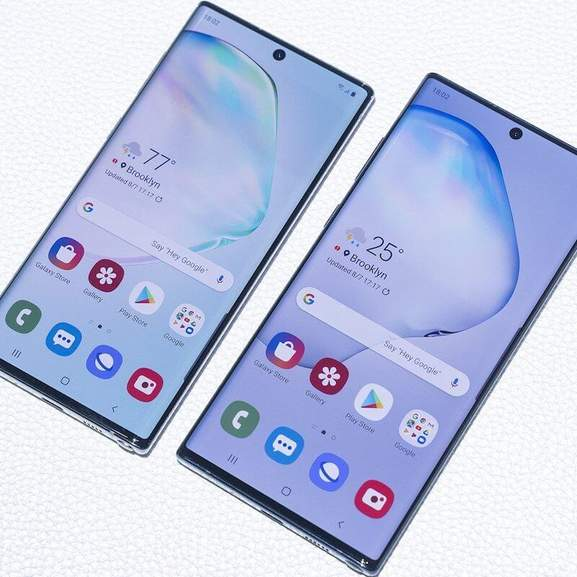 Samsung Galaxy Note 10 and Samsung Galaxy Note 10 Plus