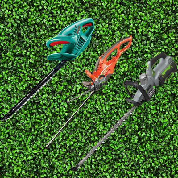 3 hedge trimmers