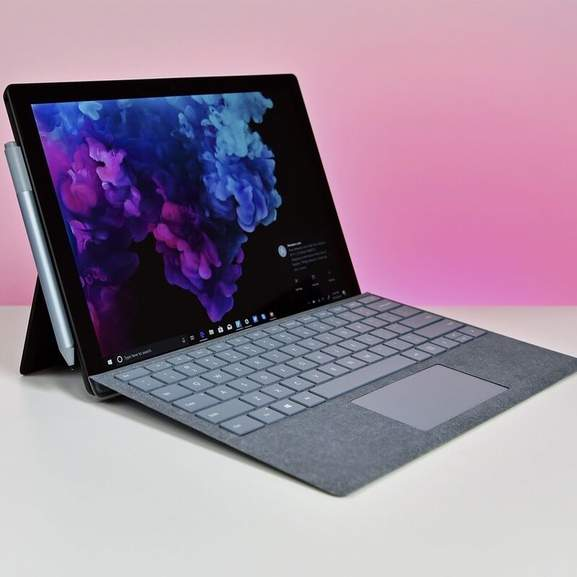 surface pro 6 with keyboard