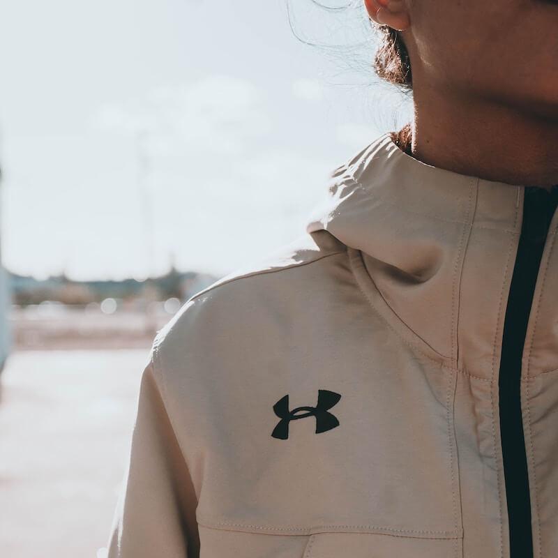 Biege Under Armour Jacket