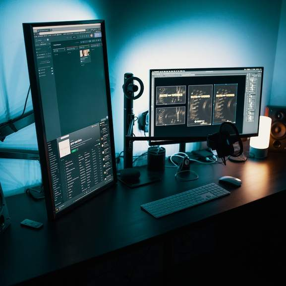 double monitor pc