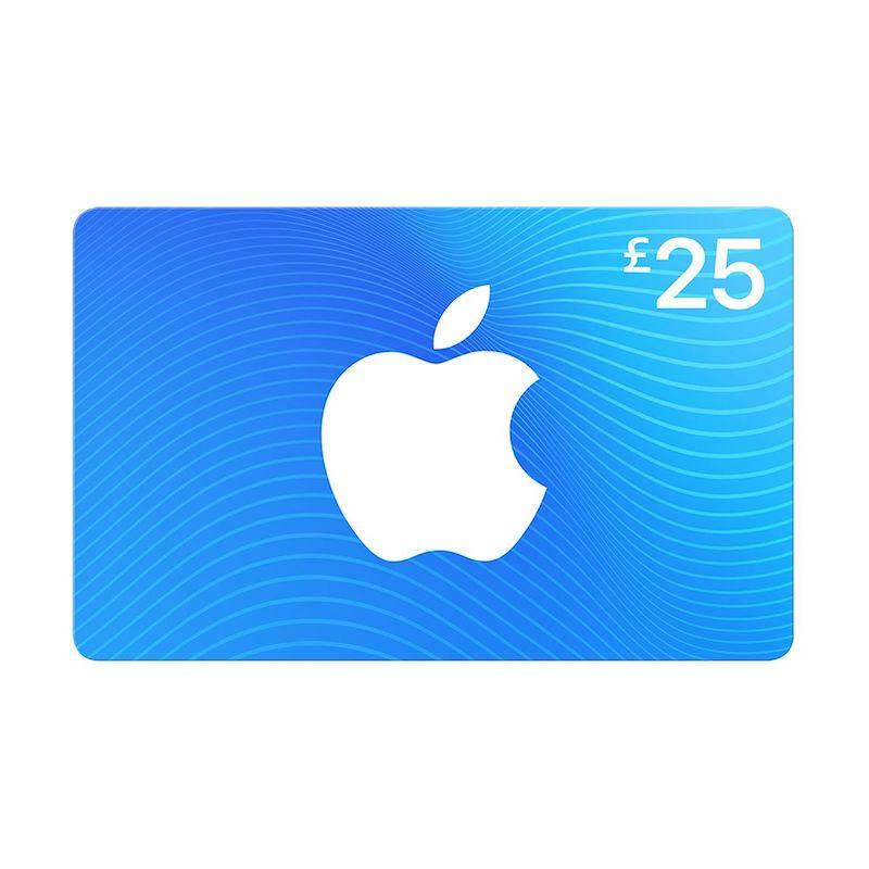 Blue iTunes Gift Card