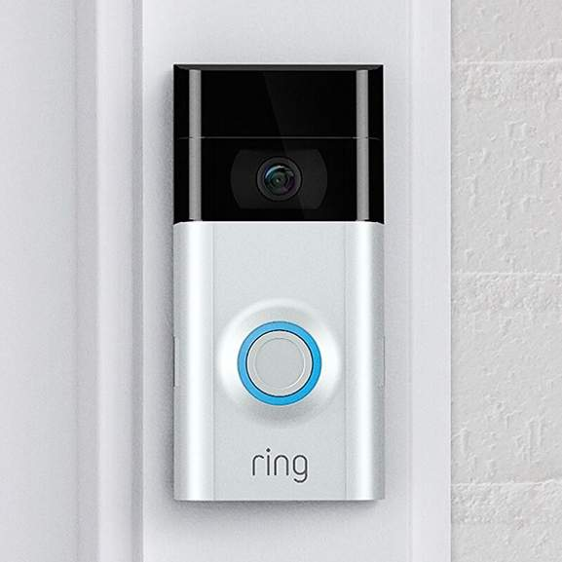 ring video doorbell 2 closeup