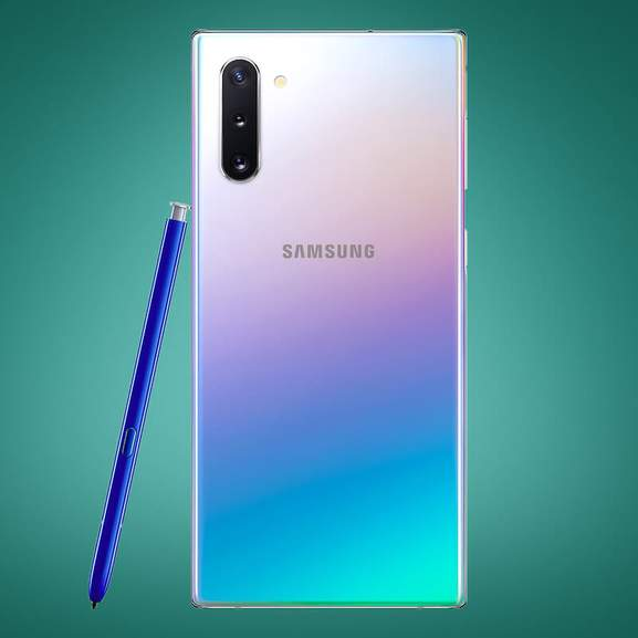 Samsung Galaxy Note 10 camera with S Pen