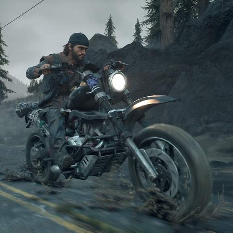 Days Gone Deacon on Motorbike