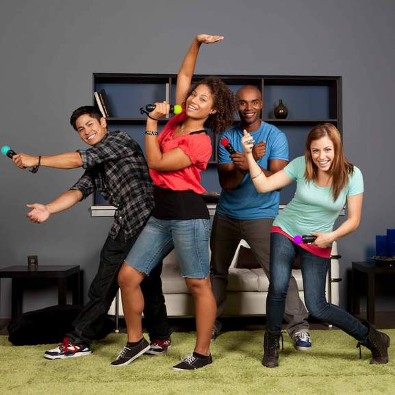Just dance with move