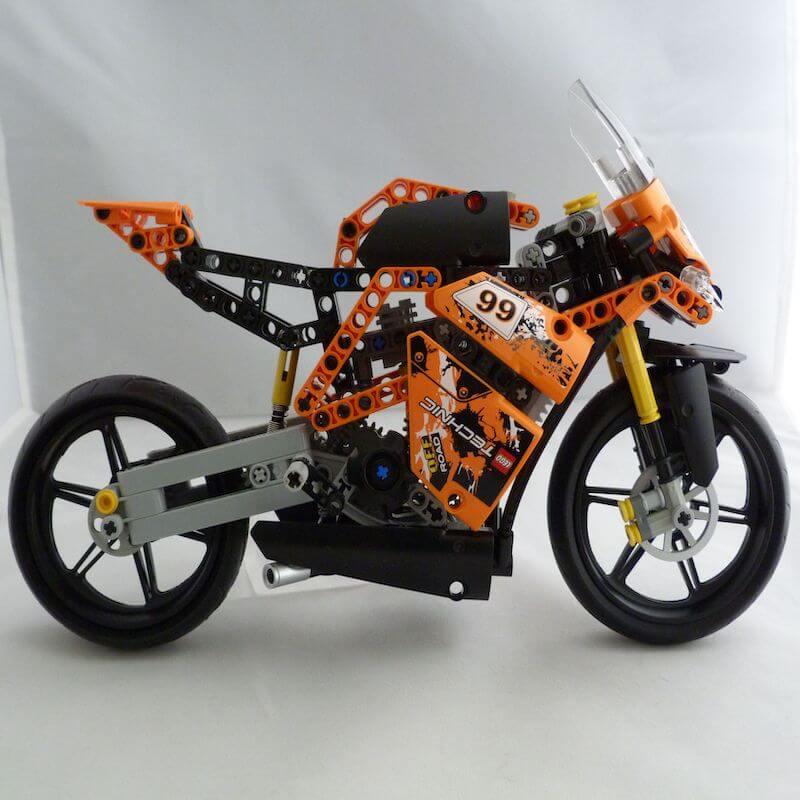 lego technic motor bike