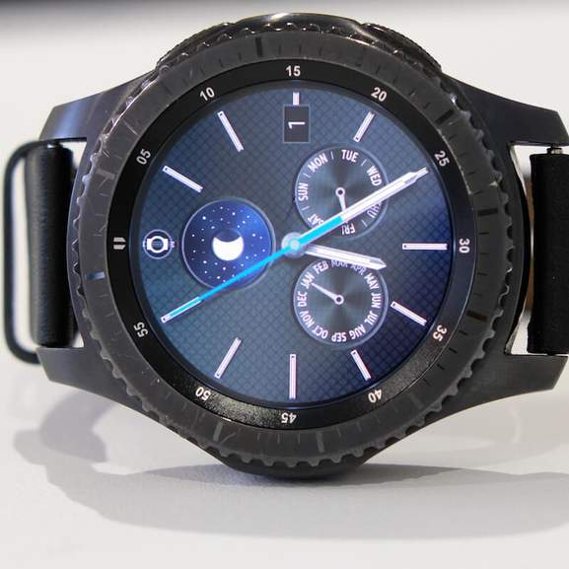 Samsung Gear S3 Frontier Display