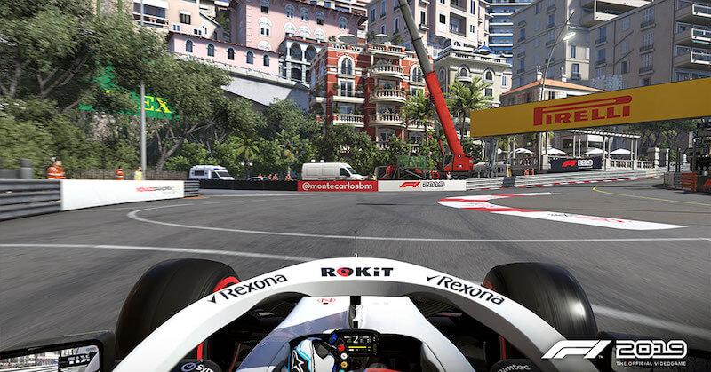 Williams F1 car at Monte Carlo GP