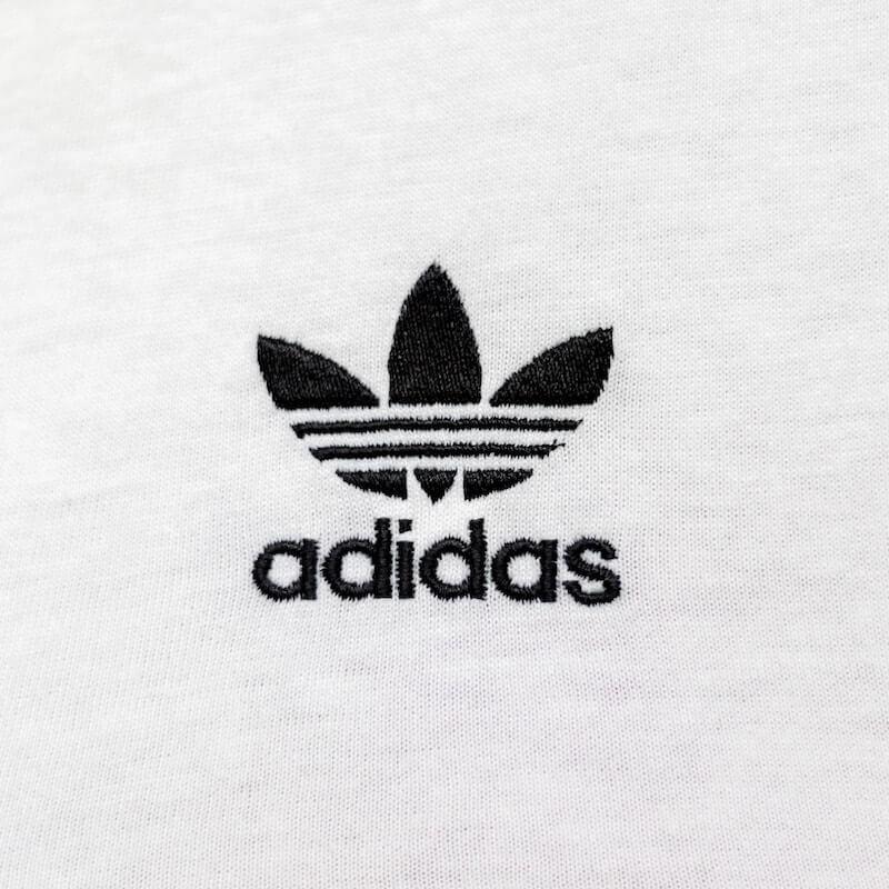 Black adidas originals logo