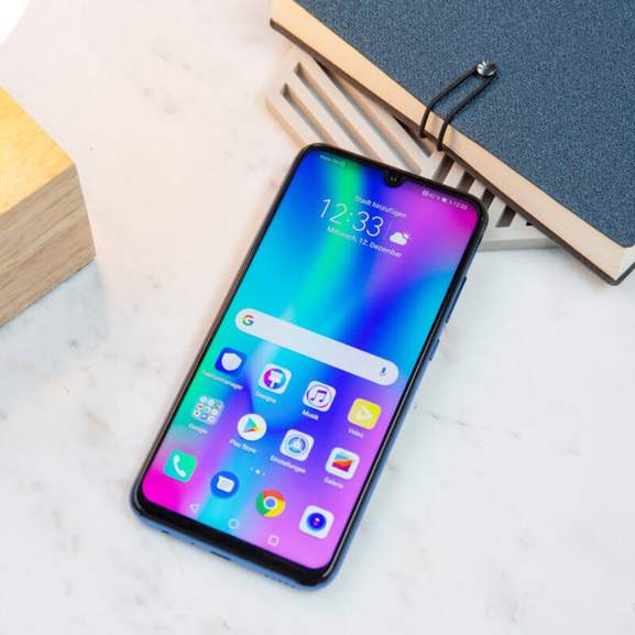 Honor 10 lite next to book