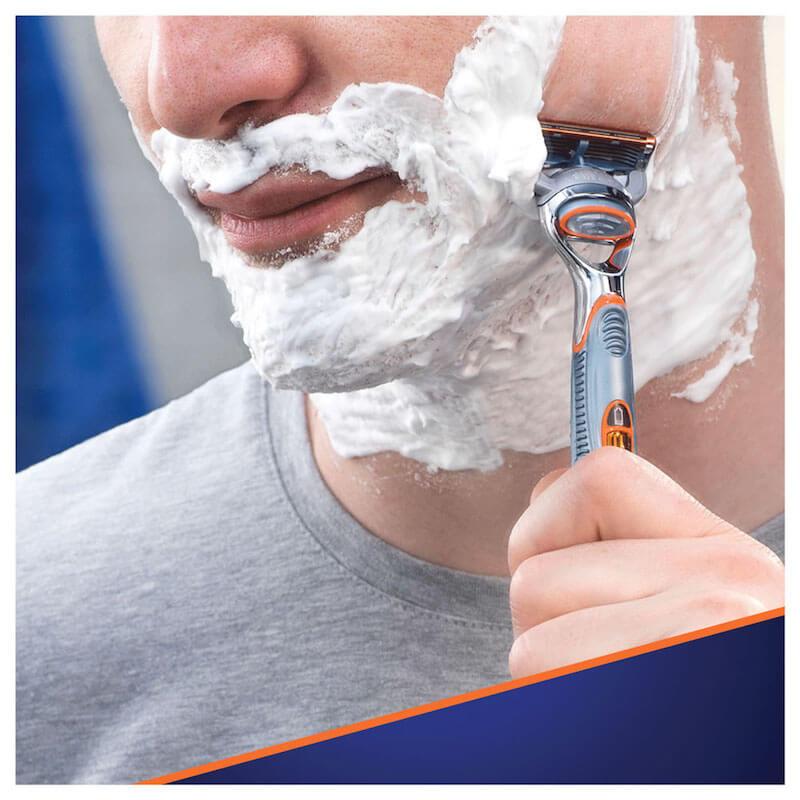 gillette fusion shaving