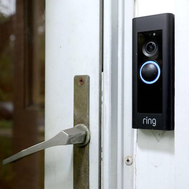 ring video doorbell front door