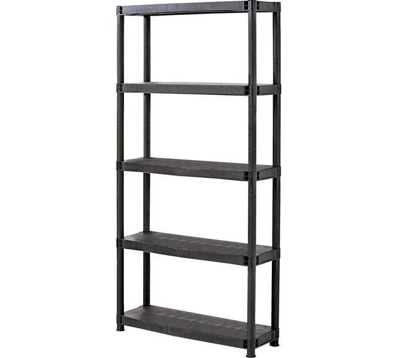 tiered shelving on sale argos 3 tier 4 tier 11. Black Bedroom Furniture Sets. Home Design Ideas