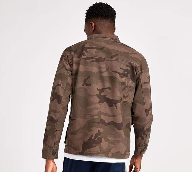 31a99a663 Brave Soul Anarchy Overshirt 100% cotton Jacket in camo sizes small ...