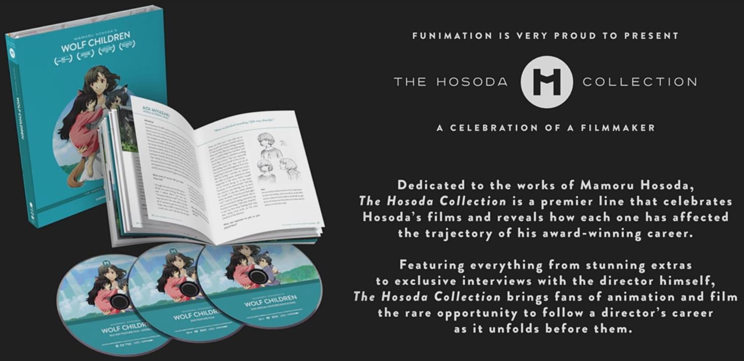 Wolf Children (Blu-ray) £8 99 Delivered @ Base - hotukdeals
