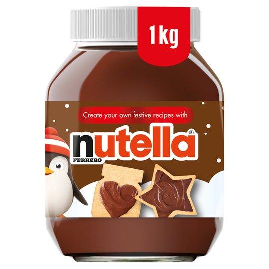 Nutella Hazelnut Chocolate Spread 1kg For 390 At Tesco