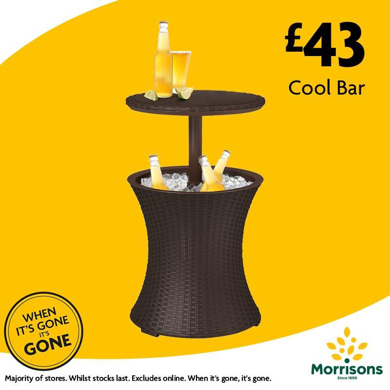 keter cool bar 43 instore morrisons nationwide hotukdeals. Black Bedroom Furniture Sets. Home Design Ideas