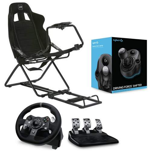 Logitech G920 or G29 Racing Wheel Set + Shifter and X Rocker