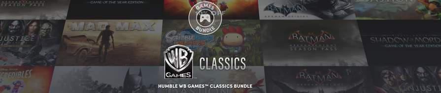 Humble Warner Bros Classics Bundle From 77p Humble Bundle Alienware Arena